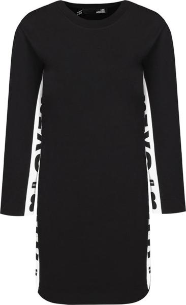 Sukienka Love Moschino w stylu casual z długim rękawem mini