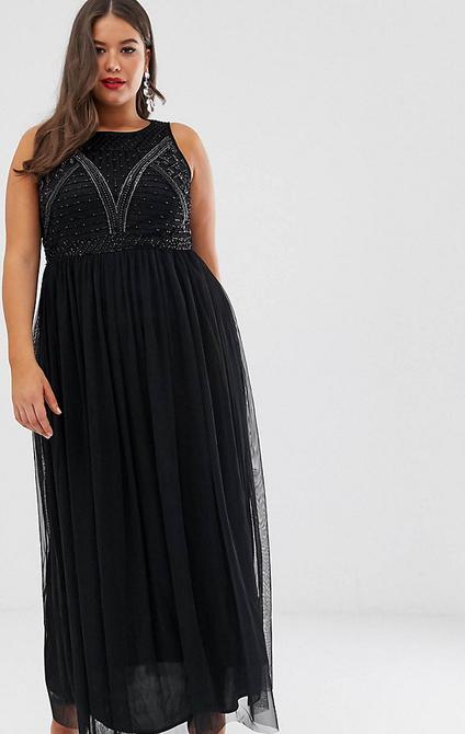 Sukienka Lovedrobe Luxe bez rękawów