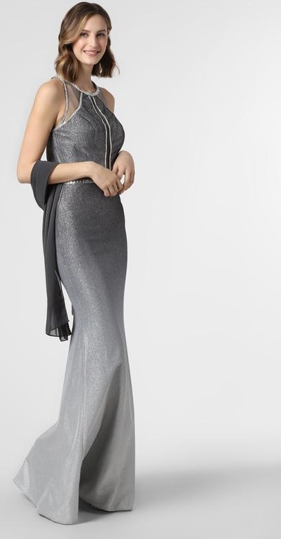 Sukienka Luxuar Fashion bez rękawów maxi