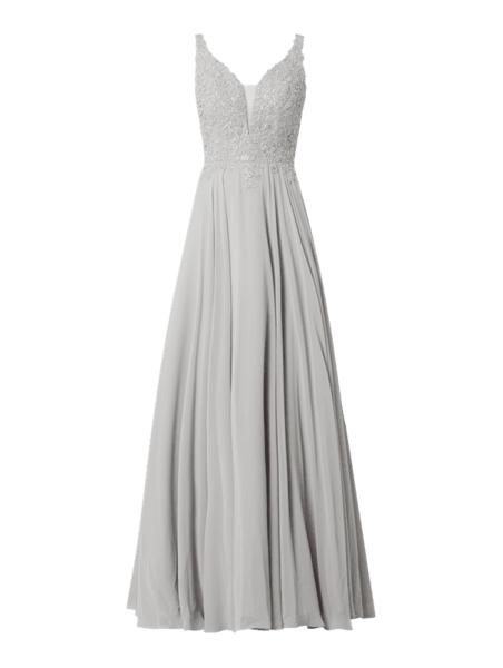 Sukienka Luxuar z szyfonu