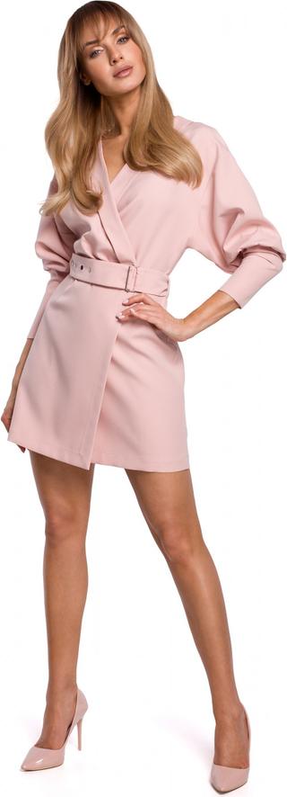 Sukienka Made Of Emotion mini z dekoltem w kształcie litery v