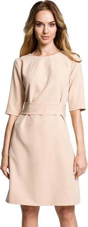 Sukienka Made Of Emotion mini z długim rękawem