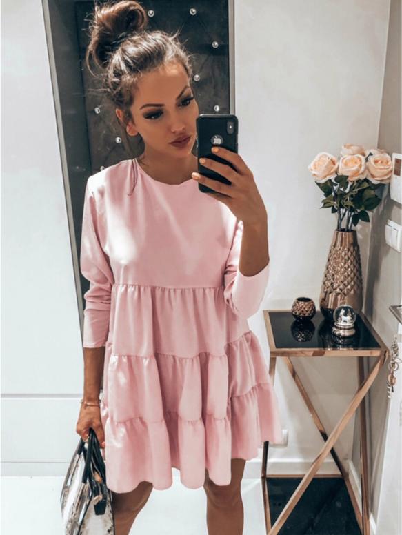 Sukienka magmac.pl oversize mini w stylu casual