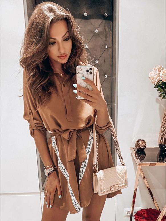 Sukienka magmac.pl w stylu casual mini koszulowa