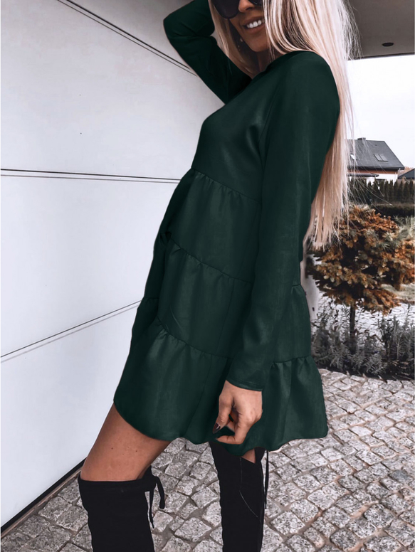 Sukienka magmac.pl w stylu casual oversize z długim rękawem
