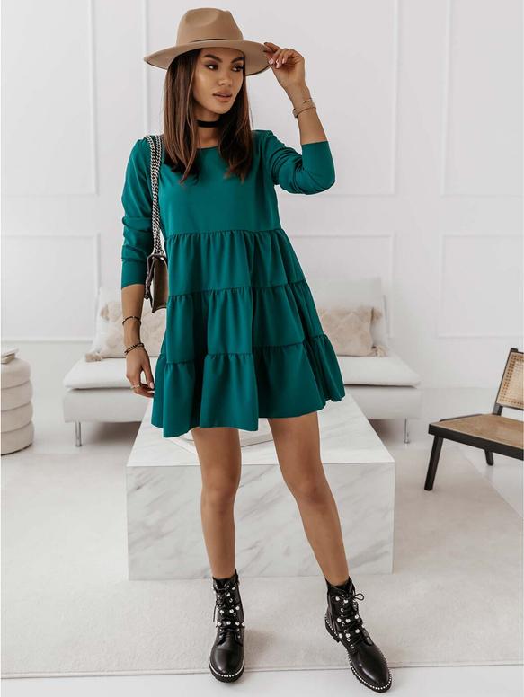Sukienka magmac.pl z długim rękawem oversize mini