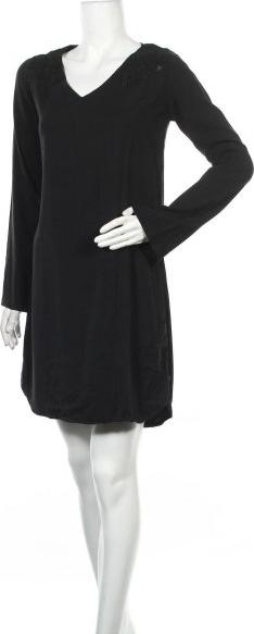 Sukienka Maison Scotch prosta z długim rękawem mini