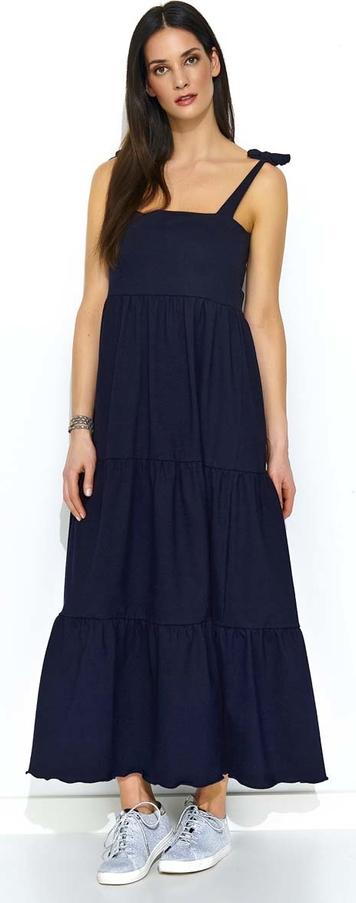 Sukienka Makadamia z bawełny maxi