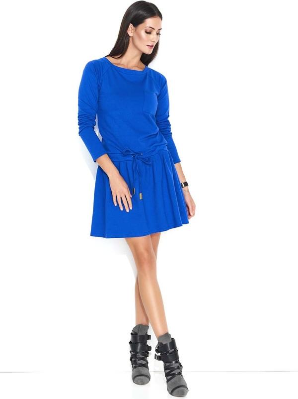 Sukienka Makadamia z długim rękawem mini z bawełny