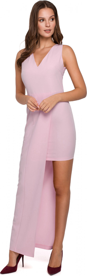 Sukienka Makover maxi asymetryczna