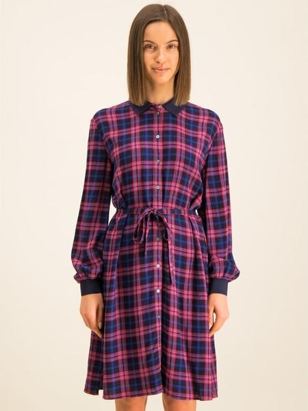 Sukienka Marc O'Polo w stylu casual mini z długim rękawem