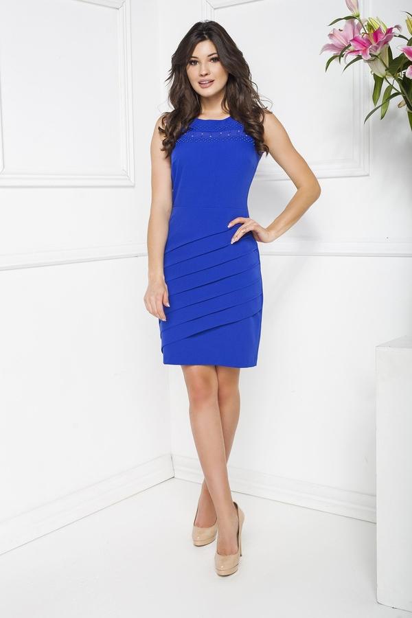 Sukienka Marcelini z szyfonu prosta