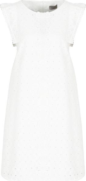 Sukienka Marella Sport trapezowa z okrągłym dekoltem mini