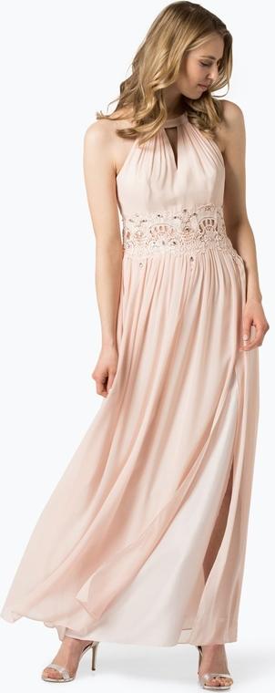 Sukienka Marie Lund maxi z dekoltem typu choker