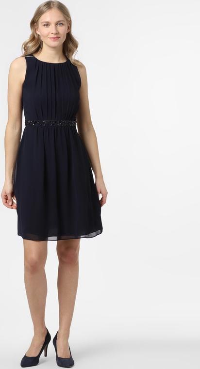 Sukienka Marie Lund mini bez rękawów z okrągłym dekoltem