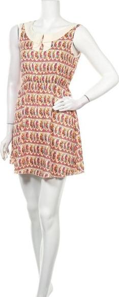 Sukienka Mela Loves London z dekoltem w kształcie litery v bez rękawów
