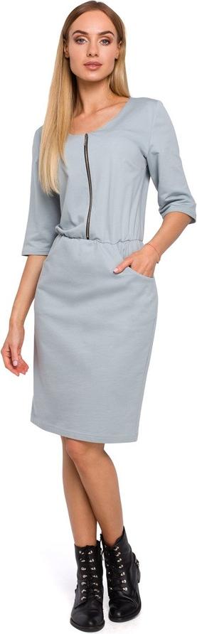 Sukienka Merg midi w stylu casual