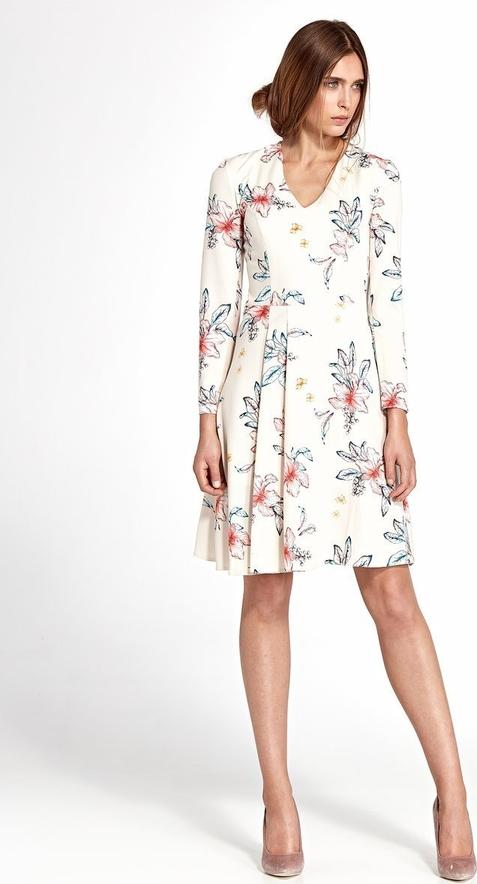 Sukienka Merg z długim rękawem mini