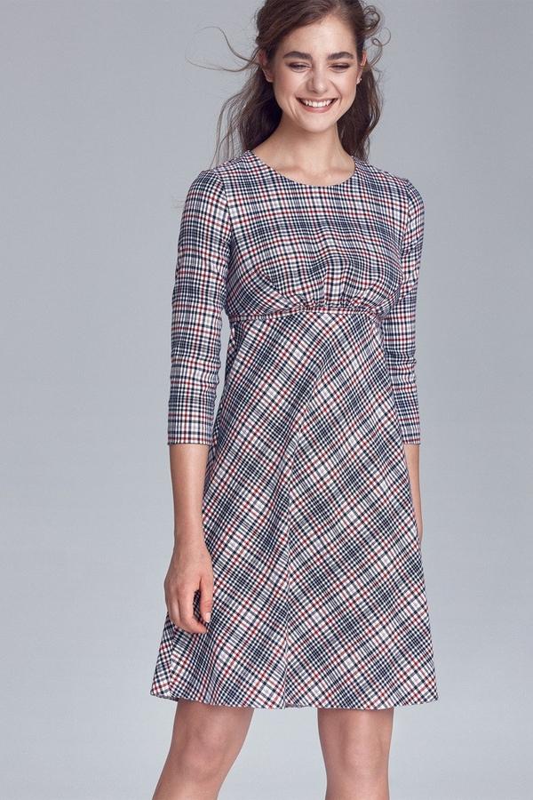 Sukienka Merg z okrągłym dekoltem
