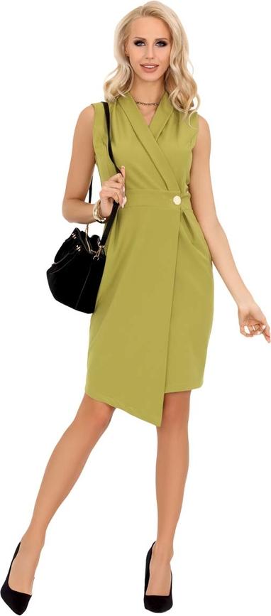 Sukienka MERRIBEL bez rękawów asymetryczna