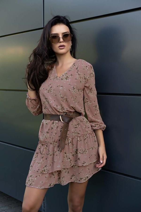 Sukienka MERRIBEL z długim rękawem