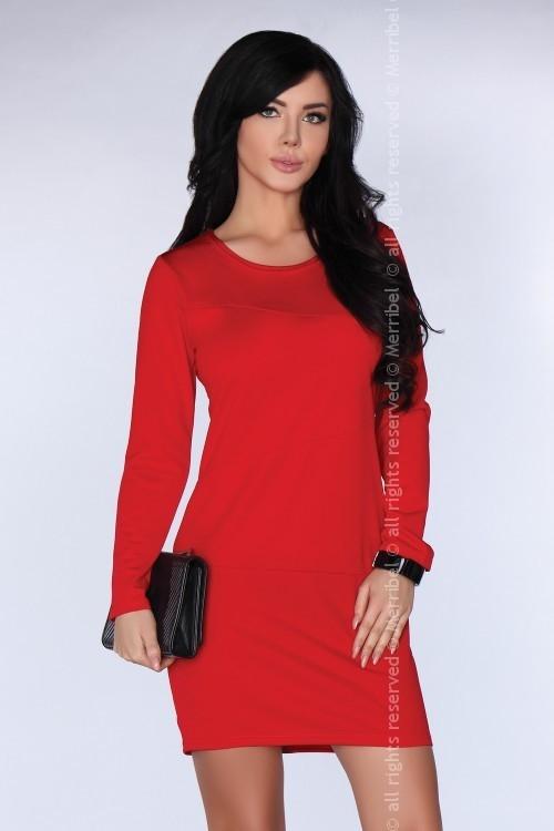 Sukienka MERRIBEL z długim rękawem mini