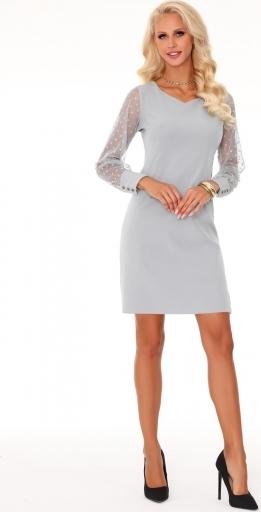 Sukienka MERRIBEL z długim rękawem z tkaniny
