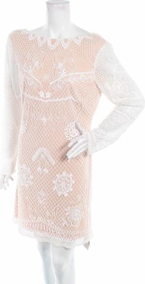 Sukienka Michelle Keegan z długim rękawem