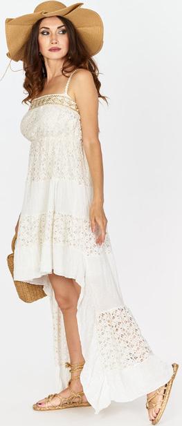 Sukienka MILAGRO STORE w stylu boho z bawełny