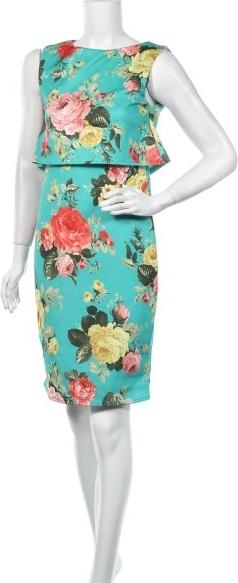 Sukienka Miss Look bez rękawów