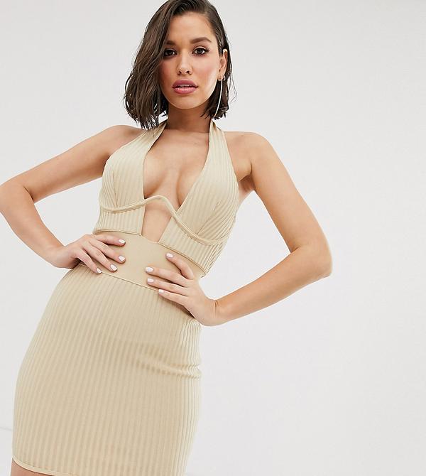 Sukienka Missguided mini gorsetowa