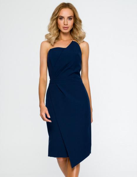 Sukienka MOE gorsetowa bez rękawów