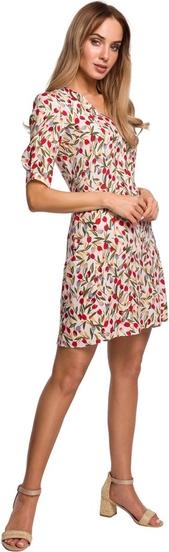 Sukienka MOE mini z tkaniny