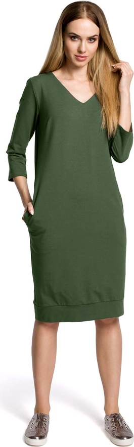 Sukienka MOE z długim rękawem