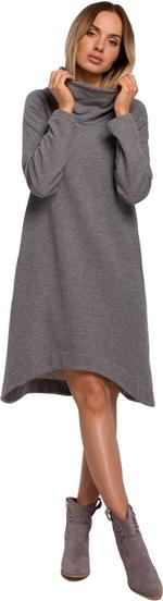 Sukienka MOE z dzianiny z długim rękawem w stylu casual