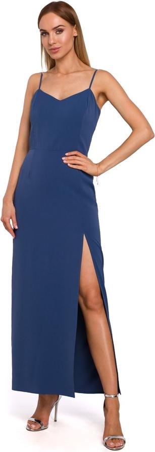 Sukienka MOE z tkaniny maxi
