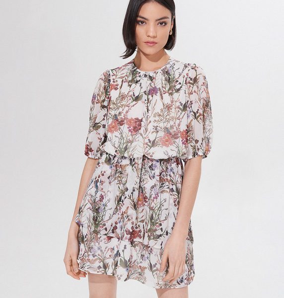 Sukienka Mohito mini koszulowa w stylu casual