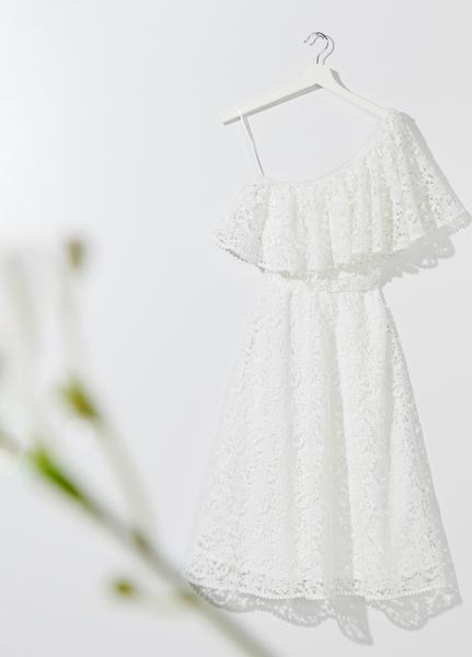 Sukienka Mohito z krótkim rękawem hiszpanka w stylu boho