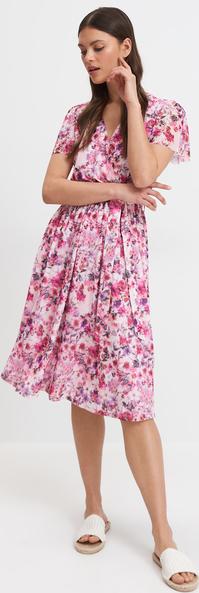 Sukienka Mohito z krótkim rękawem midi