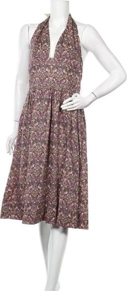 Sukienka Mon Petit z dekoltem w kształcie litery v