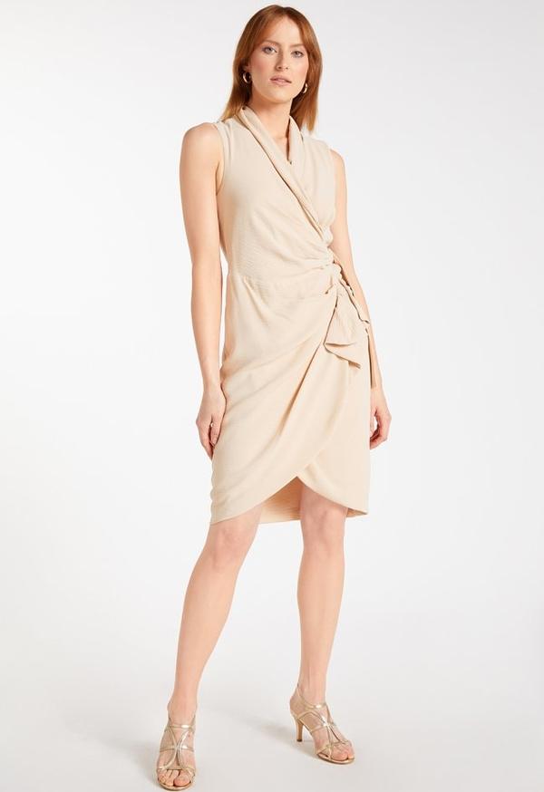 Sukienka Monnari kopertowa bez rękawów