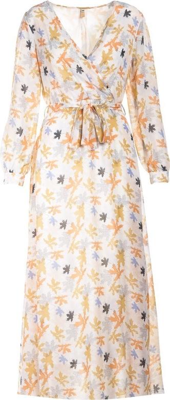 Sukienka Multu z długim rękawem midi