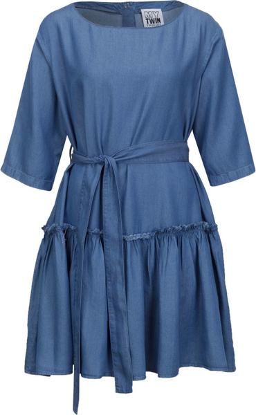 Sukienka Mytwin Twinset z tkaniny