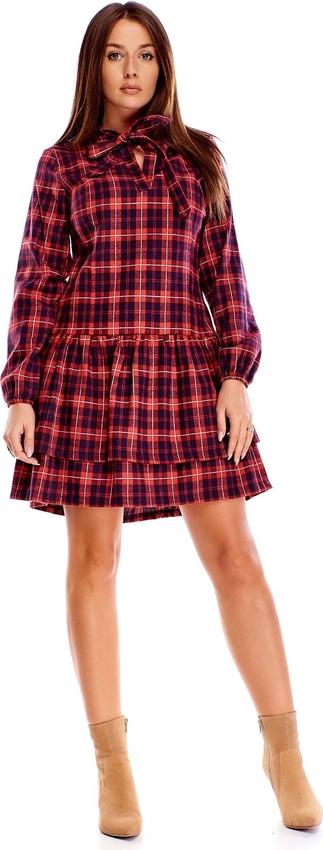 Sukienka N/A mini z długim rękawem w stylu casual