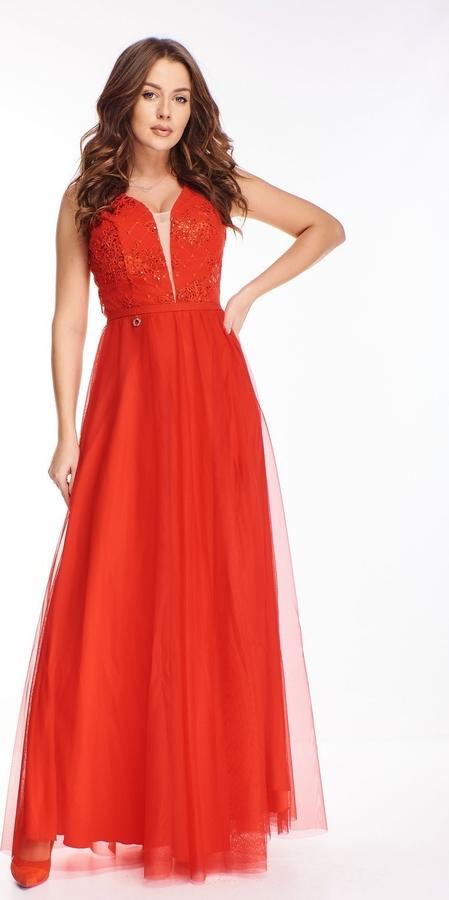 Sukienka N/A z dekoltem w kształcie litery v maxi bez rękawów