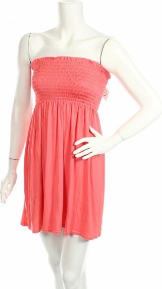Sukienka Nice Collection bez rękawów mini prosta