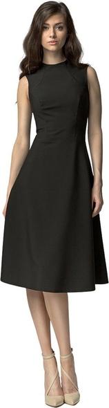 Sukienka Nife bez rękawów z okrągłym dekoltem