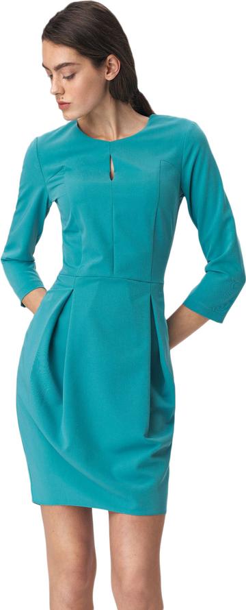 Sukienka Nife z długim rękawem tulipan mini