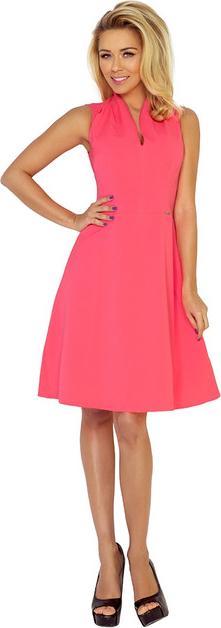 Sukienka NUMOCO bez rękawów z dekoltem w kształcie litery v
