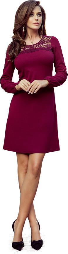 Sukienka NUMOCO mini z okrągłym dekoltem